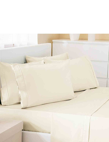 500 Thread-Count Cotton Rich Premium Blend - Flat Sheet