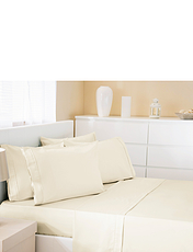 500 Thread-Count Cotton Rich Premium Blend Bedlinen Fitted Sheet By Belledorm