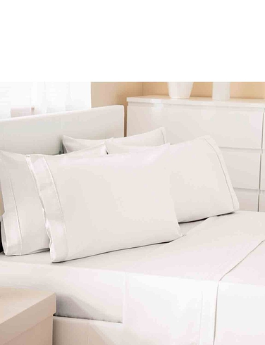 500 Thread Count Cotton Rich Premium Blend Fitted Sheet