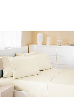 500 Thread-Count Cotton Rich Premium Housewife Pillowcases by Belledorm