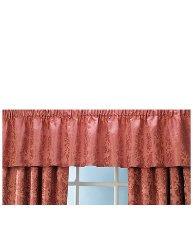 Lana Lined Straight Valance