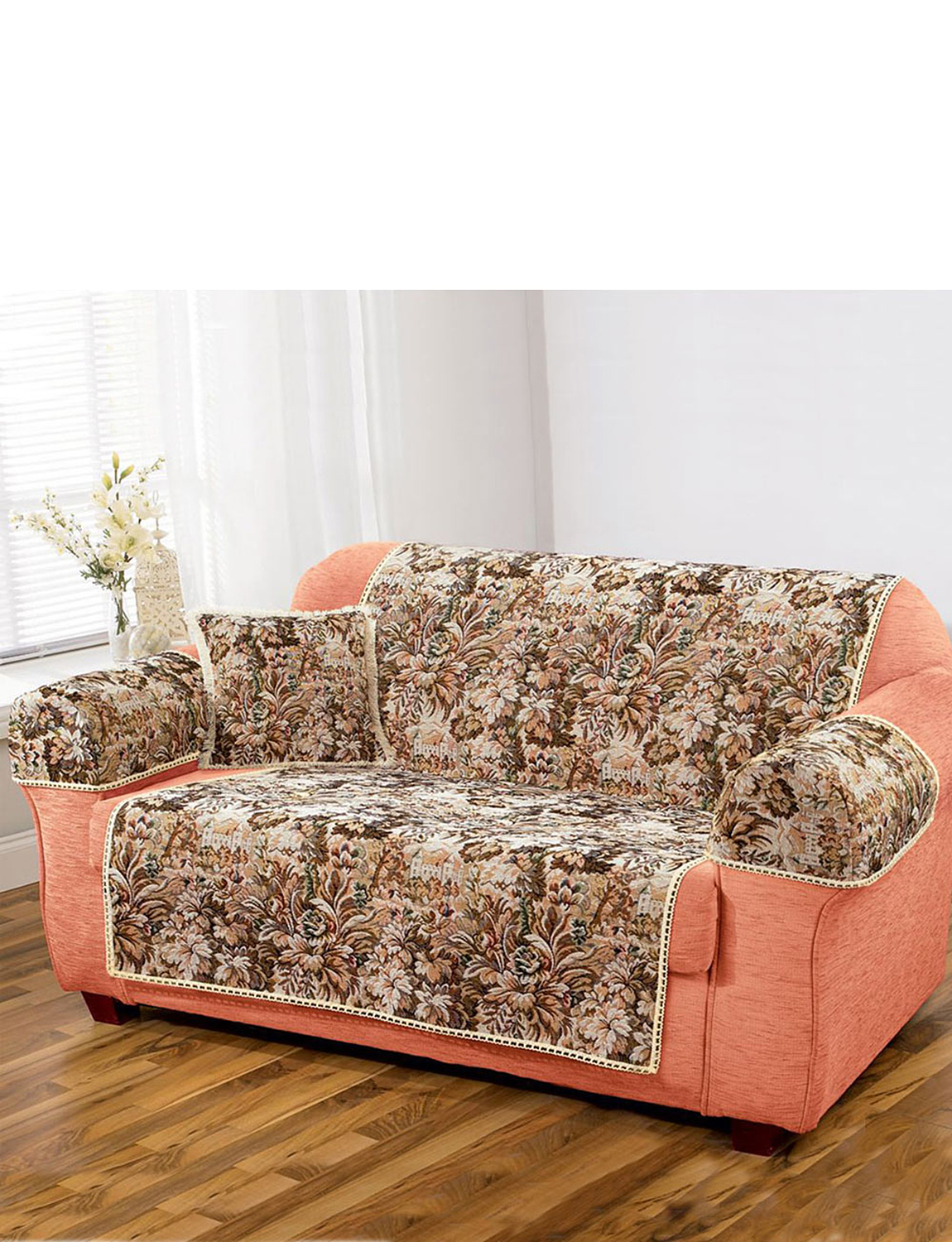 Castle tapestry furniture protectors home textiles for Furniture guard
