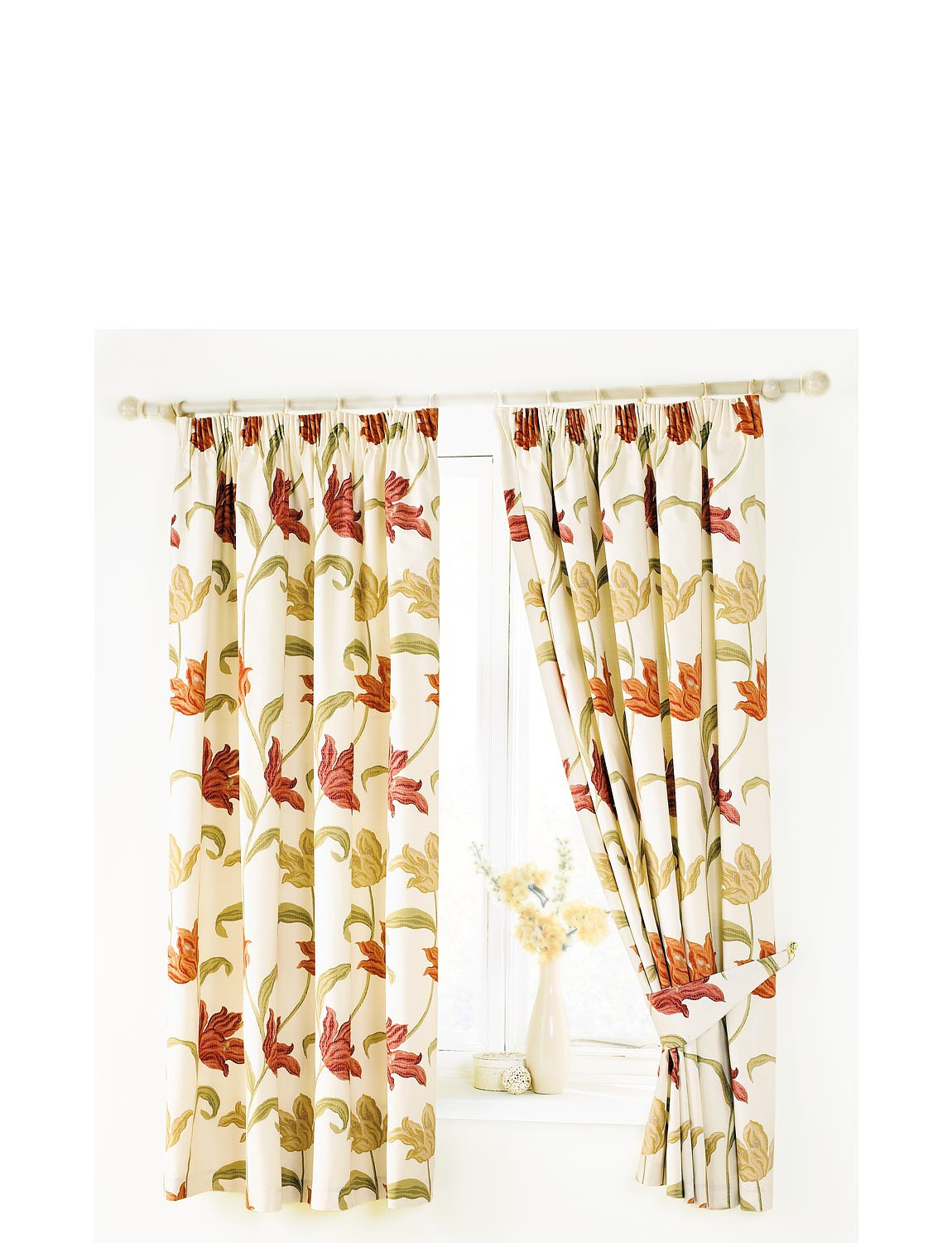 Kinsale Lined Curtains Home Textiles