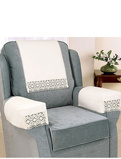 Non-Slip Cotton/Lace Furniture Accessories