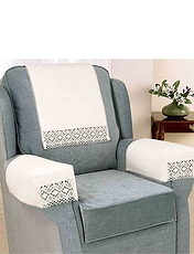 Non-Slip Cotton and Lace Furniture Accessories