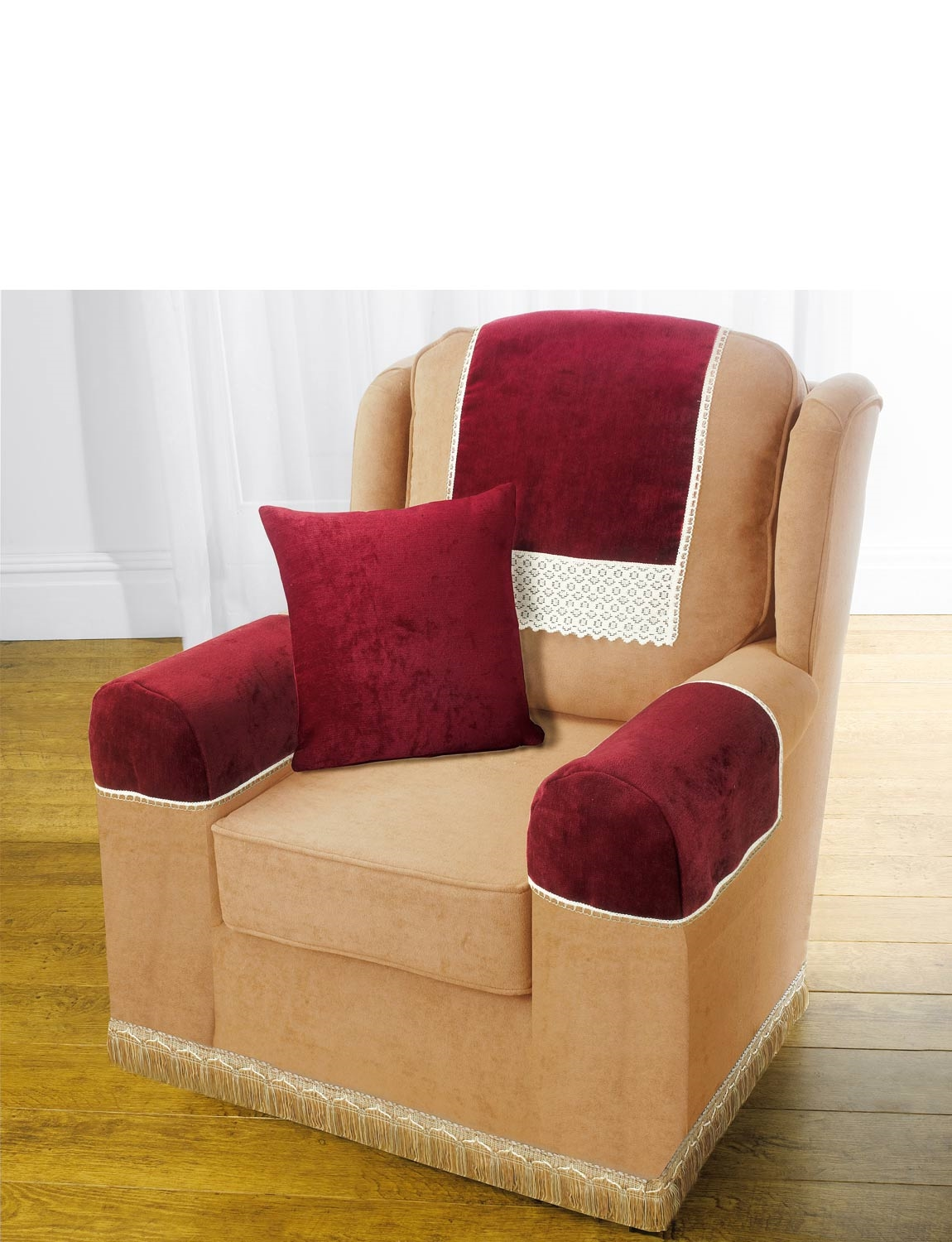 Chenille Furniture Accessories - Home Living Room