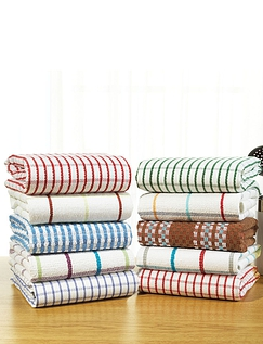 Terry Kitchen Towels (Pack of 10)