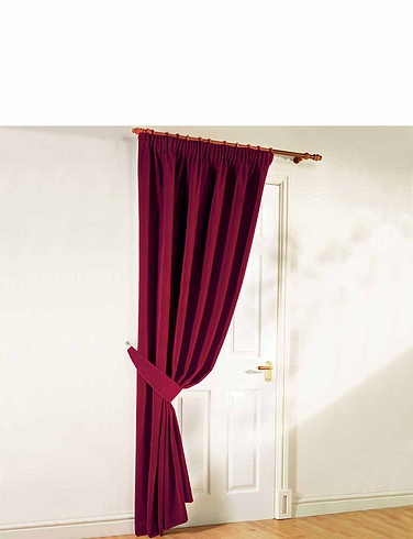 Thermal Velour Door Curtains