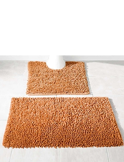 Cotton Twist Bath and  Pedastal Mats