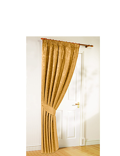 Lana Lined Jacquard Door Curtains
