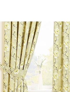 Roasmund Lined Cotton Panama Curtains