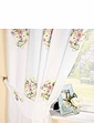 Hayley Lined Voile Curtains & Tie Backs