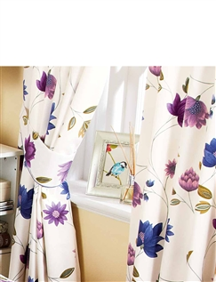 Charlotte Lined Curtains Lavender