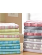 Pack of 10 Super Absorbent Pure Cotton Tea Towels