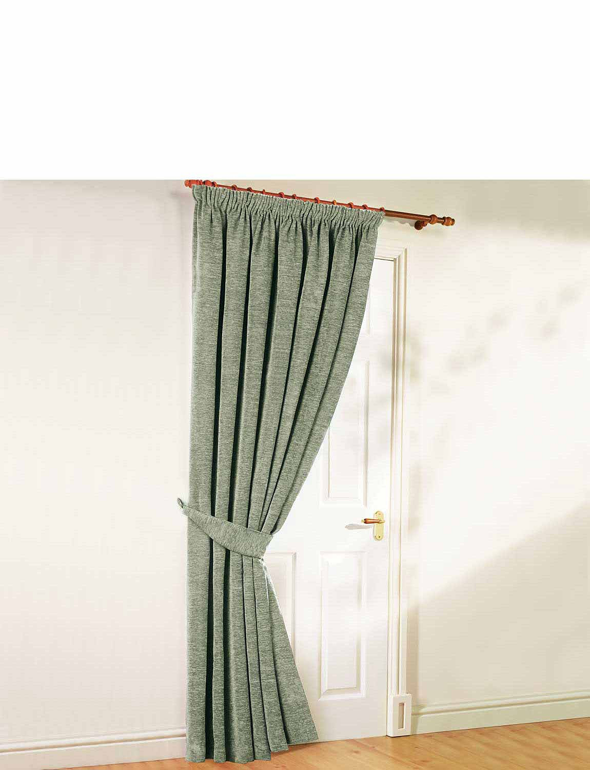 Luxury Heavyweight Chenille Door Curtain