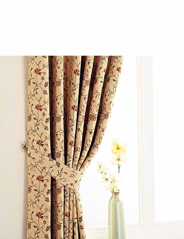 Tapestry Lined Curtains