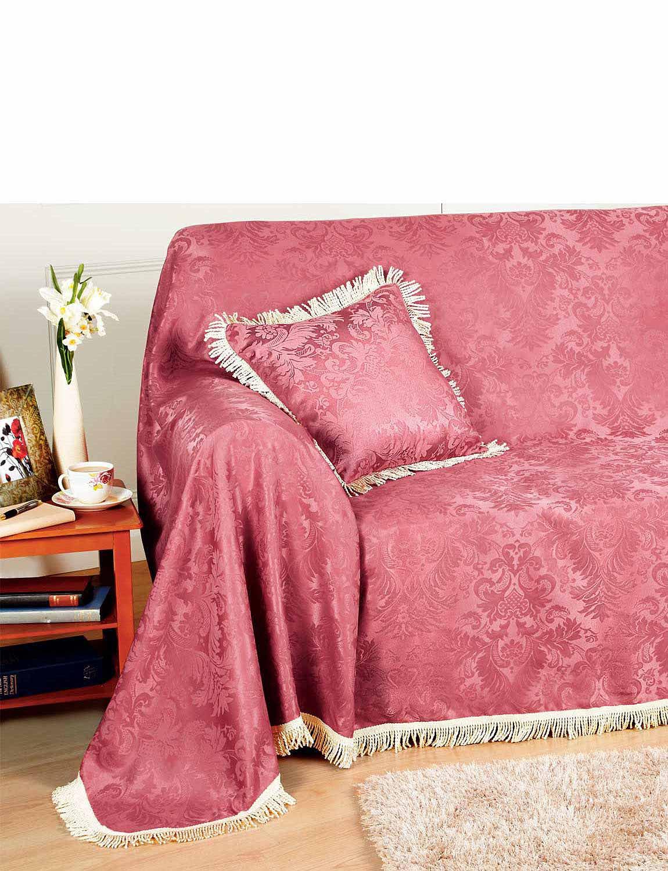 Damask Furniture Chair Throw