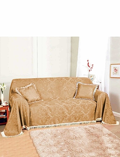Damask 3-Seather Throw
