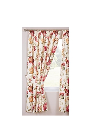 Carnaby Cotton Panama Chintz Curtains