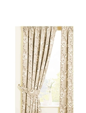 ROSAMUND LINED COTTON PANAMA CURTAINS