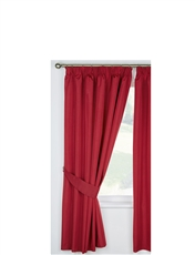 FAUX-SILK LOOK BLACKOUT CURTAINS