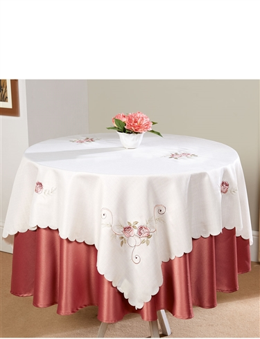 Embroidered Tablecloth