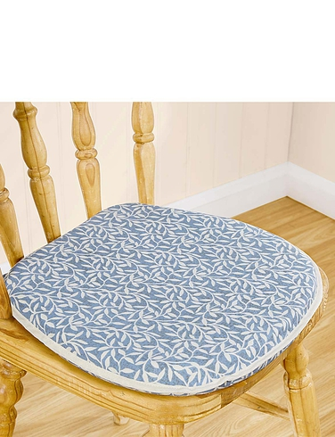 Leaf Print Kitchen and Dining Seat Pad