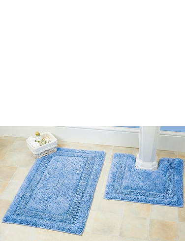 Luxury Weight Bath and Pedestal Rugs By Christy