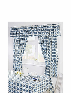 KATIE KITCHEN CURTAINS-TABLECLOTH