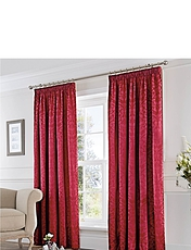 Eastbourne Lined Damask Curtains
