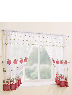 Gingham Window Set