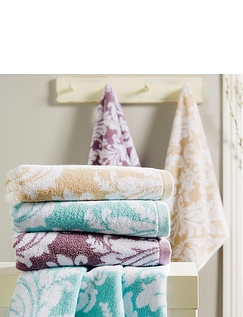 Christy Palermo Jacquard Towels