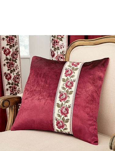 Velvet Rose Cushion Covers