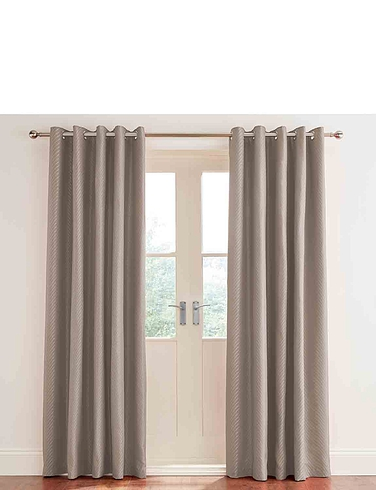 Neptune Lined Eyelet Curtains