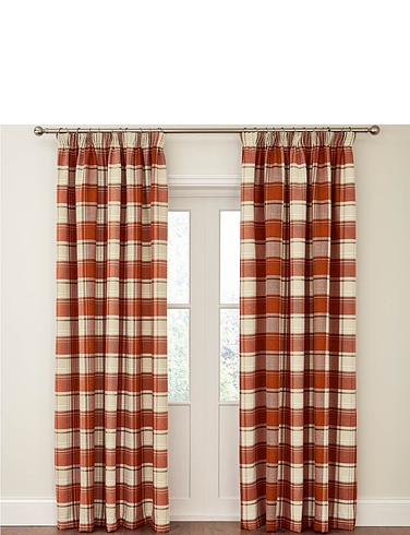Shetland Check Curtains