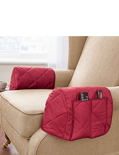 Plain Wine Quilted Furniture Protector