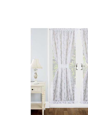 Kew Lace Door Curtain