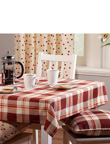 Chelsea Check Tablecloth