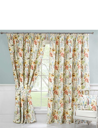 Zebedee Lined Curtains