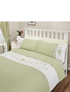 Alice Luxury Duvet Cover and Pillowcase Set