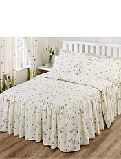 Bluebell Meadow by Belledorm Quilted Fitted Bedspread