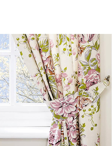 Rose Boutique Curtains and FREE Tie-Backs