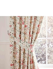 Summertide Curtains And Tiebacks