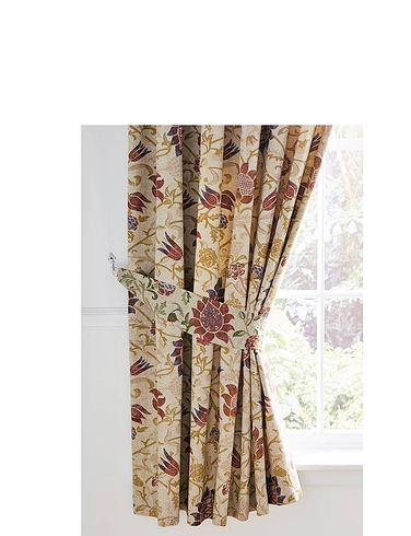 Galiana Lined Curtains With Free Tie-Backs