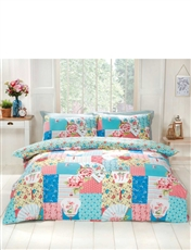 Osaka Reversible Quilt Cover Set