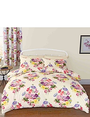 Floral Bouquet Quilt Set
