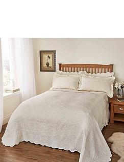 Nicola Jacquard Throwover Bedspread