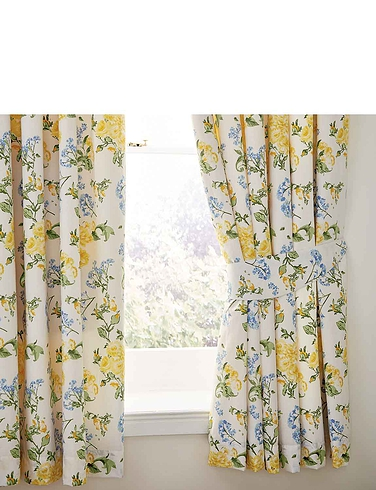 Arabella Collection By Belledorm - Lined Curtains and Free Tie-Backs