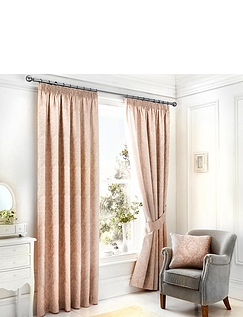 Laurent Luxury Jacquard Lined Curtains