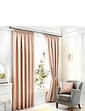 Laurent Luxury Jacquard Lined Curtains + Free Tie Backs